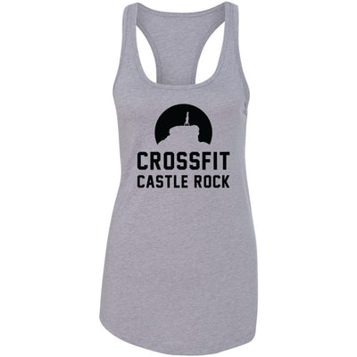 CrossFit Castle Rock - 100 - Standard - Next Level - Women's Ideal Racerback Tank