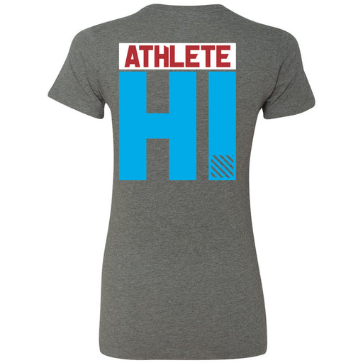 CrossFit Oahu - 200 - HI 3 Colors - Bella + Canvas - Women's The Favorite Tee