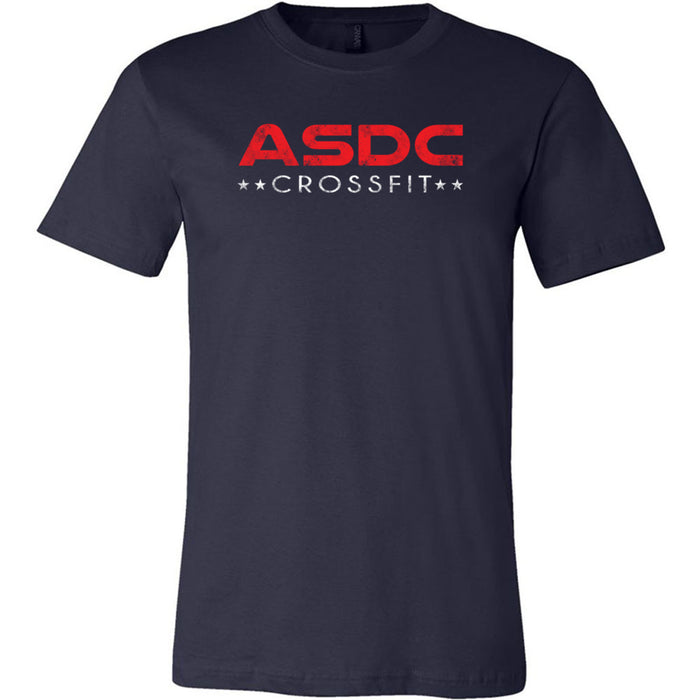 ASDC CrossFit - 200 - ASDC - Bella + Canvas - Men's Short Sleeve Jersey Tee