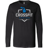 CrossFit Fenton - 100 - Standard - Bella + Canvas 3501 - Men's Long Sleeve Jersey Tee