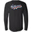 CrossFit I35 - 100 - Let's Exercise Back Print - Bella + Canvas 3501 - Men's Long Sleeve Jersey Tee