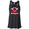 CrossFit Burlingame - 100 - Script - Bella + Canvas - Women's Flowy Racerback Tank