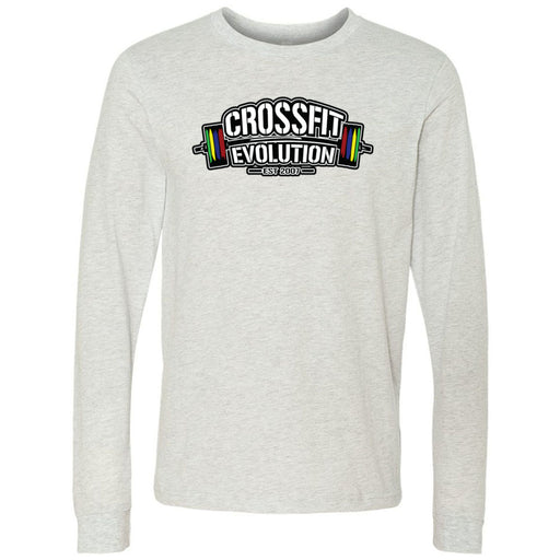 CrossFit Evolution - 100 - Standard - Bella + Canvas 3501 - Men's Long Sleeve Jersey Tee
