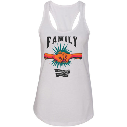 CrossFIt Washington - 100 - Family - Next Level - Women's Ideal Racerback Tank