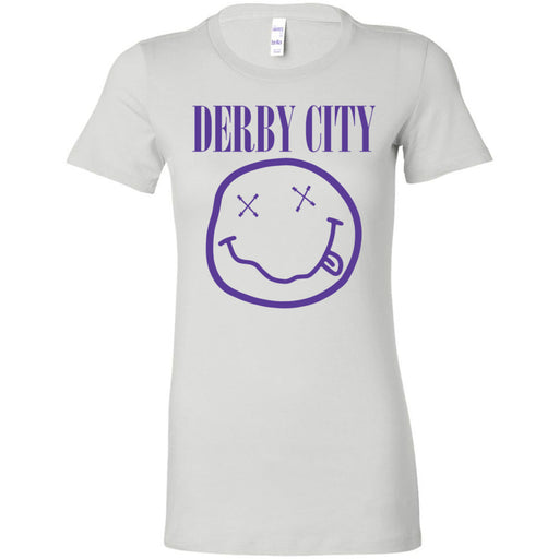 Derby City CrossFit - 200 - Nirvana Blue - Bella + Canvas - Women's The Favorite Tee