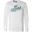 No Excuses CrossFit - 100 - Fall - Bella + Canvas 3501 - Men's Long Sleeve Jersey Tee