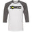 CrossFit Rx - 100 - Atlanta - Bella + Canvas - Men's Three-Quarter Sleeve Baseball T-Shirt