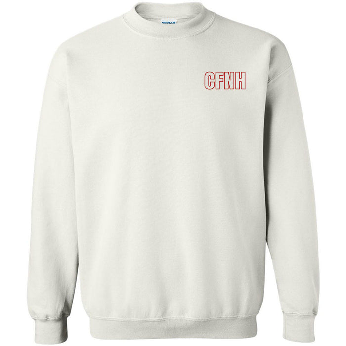 CF New Hampshire - 201 - CFNH Coach Red - Gildan - Heavy Blend Crewneck Sweatshirt