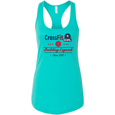 CrossFit C2L - Building Legends - Next Level - Women's Ideal Racerback Tank