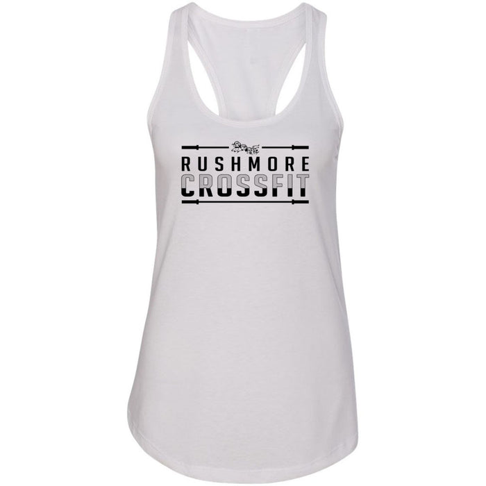 Rushmore CrossFit - 100 - One Color - Next Level - Women's Ideal Racerback Tank