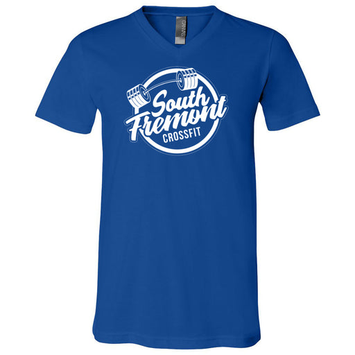 South Fremont CrossFit - 100 - Standard - Bella + Canvas - Men's Short Sleeve V-Neck Jersey Tee