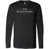 CrossFit TXXIII - 202 - Be Stronger - Bella + Canvas 3501 - Men's Long Sleeve Jersey Tee