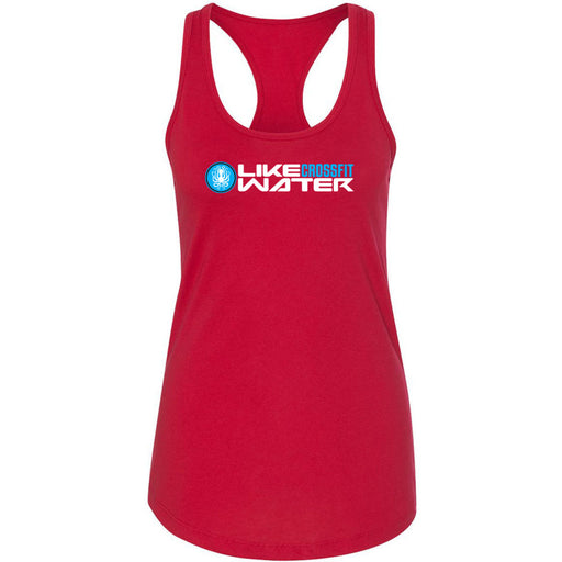 Like Water CrossFit - 100 - Standard - Next Level - Women's Ideal Racerback Tank