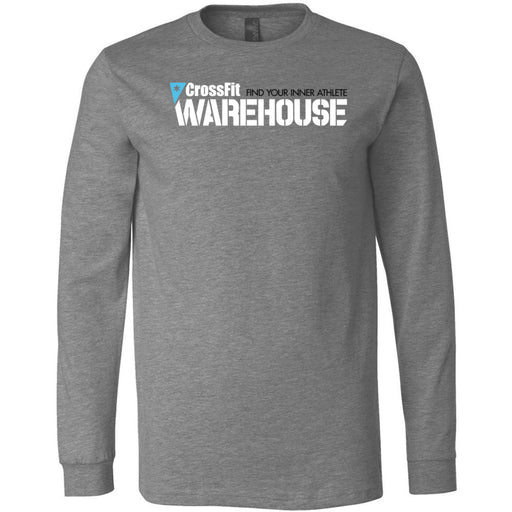 CrossFit Warehouse - 100 - Standard - Bella + Canvas 3501 - Men's Long Sleeve Jersey Tee