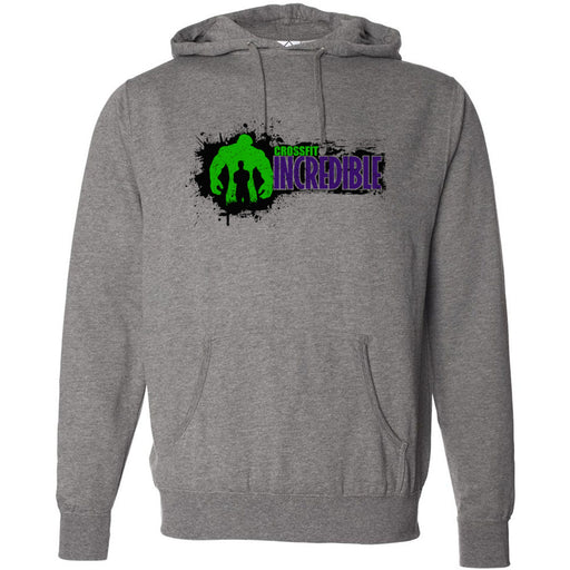 CrossFit Incredible - 100 - Horizontal - Independent - Hooded Pullover Sweatshirt