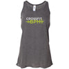 CrossFit BPM - 100 - White Volt - Bella + Canvas - Women's Flowy Racerback Tank