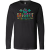 CrossFit Inconceivable - 100 - Tropical - Bella + Canvas 3501 - Men's Long Sleeve Jersey Tee