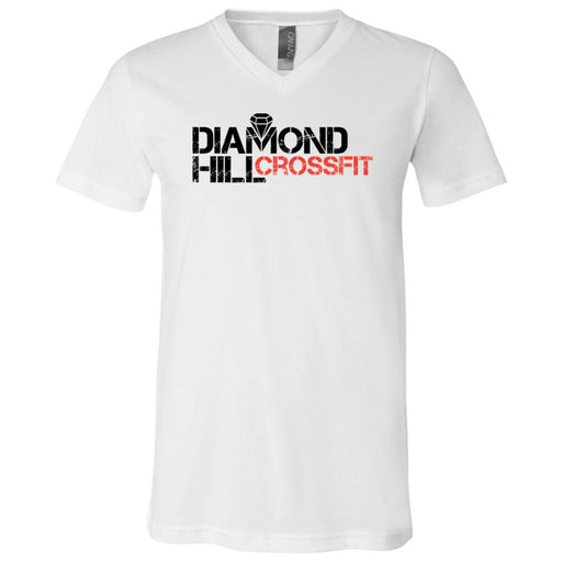 Diamond Hill CrossFit - 100 - Standard - Bella + Canvas - Men's Short Sleeve V-Neck Jersey Tee