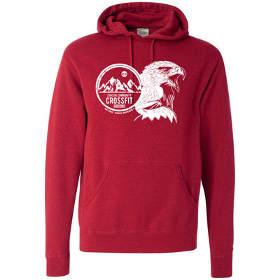 CrossFit Gibsons - 201 - Eagle - Independent - Hooded Pullover Sweatshirt