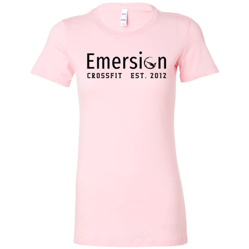 Emersion CrossFit - 100 - Black - Bella + Canvas - Women's The Favorite Tee