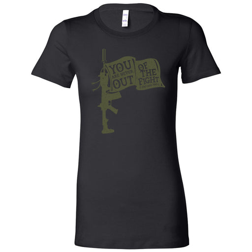 AMP Premium - 100 - You Are Never Out of the Fight - Bella + Canvas - Women's The Favorite Tee