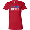 Top Gun CrossFit - 100 - Distressed - Bella + Canvas - Women's The Favorite Tee