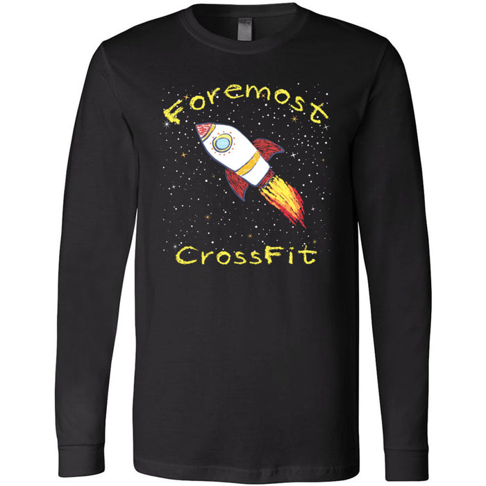 Foremost CrossFit - 202 - Spring - Bella + Canvas 3501 - Men's Long Sleeve Jersey Tee