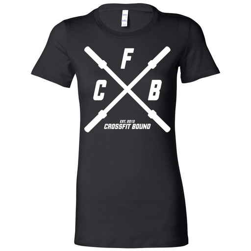 CrossFit Bound - 100 - Barbell - Bella + Canvas - Women's The Favorite Tee