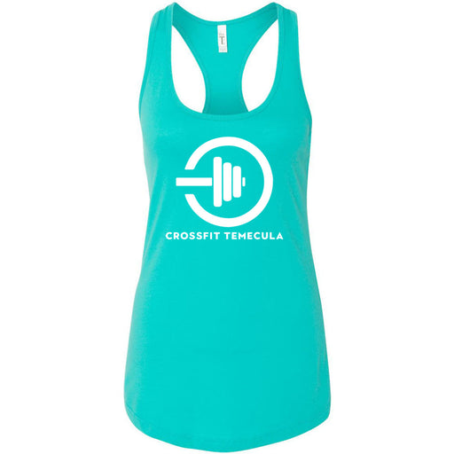 CrossFit Temecula - 100 - One Color - Next Level - Women's Ideal Racerback Tank