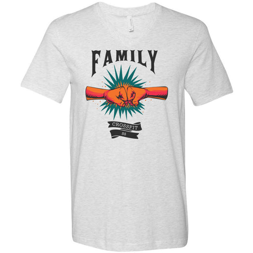 CrossFit S5 - 100 - Family - Bella + Canvas - Men's Short Sleeve V-Neck Jersey Tee