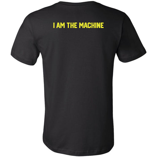 CrossFit ThunderHawk - 200 - I Am The Machine - Bella + Canvas - Men's Short Sleeve Jersey Tee