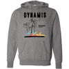 Dynamis CrossFit - 100 - Palm Tree Black - Independent - Hooded Pullover Sweatshirt