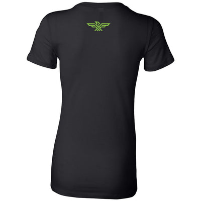 CrossFit Brigade - 200 - Peridot Green - Bella + Canvas - Women's The Favorite Tee