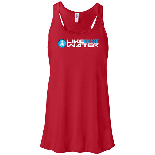 Like Water CrossFit - 100 - Standard - Bella + Canvas - Women's Flowy Racerback Tank