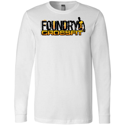 Foundry CrossFit - 100 - Standard - Bella + Canvas 3501 - Men's Long Sleeve Jersey Tee
