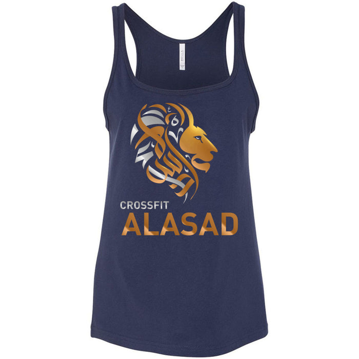CrossFit Alasad - 100 - Lion - Bella + Canvas - Women's Relaxed Jersey Tank