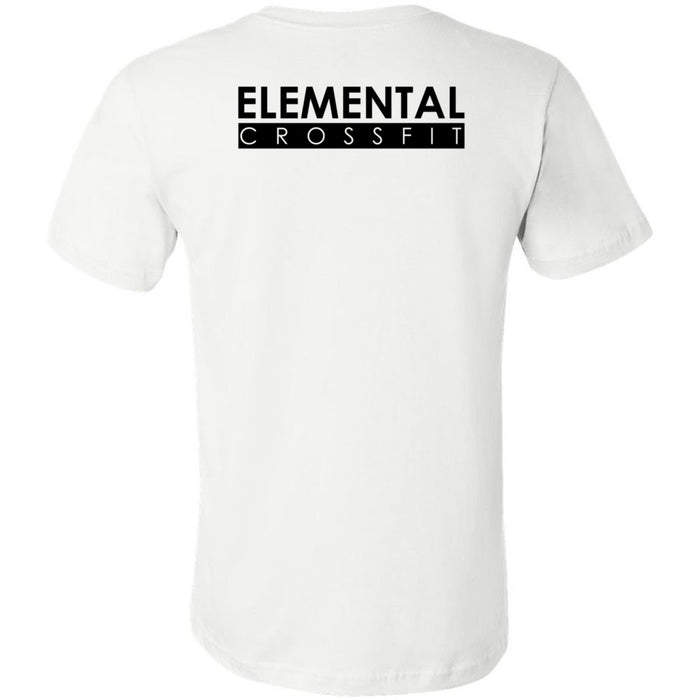 Elemental CrossFit - 200 - Icon One Color - Bella + Canvas - Men's Short Sleeve Jersey Tee