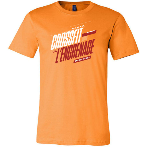 CrossFit L'Engrenage - 100 - 2020 Open - Bella + Canvas - Men's Short Sleeve Jersey Tee