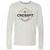 CrossFit Camrose - 100 - Standard - Bella + Canvas 3501 - Men's Long Sleeve Jersey Tee