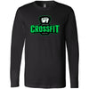 Carriage House CrossFit - 100 - Green - Bella + Canvas 3501 - Men's Long Sleeve Jersey Tee