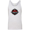 CrossFit Visalia - 100 - Barbell - Bella + Canvas - Men's Jersey Tank