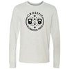 CrossFit Ellington Field - 100 - Standard - Bella + Canvas 3501 - Men's Long Sleeve Jersey Tee