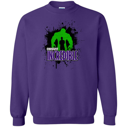 CrossFit Incredible - 100 - Standard - Gildan - Heavy Blend Crewneck Sweatshirt