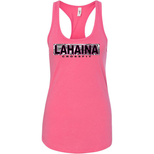 Lahaina CrossFit - 100 - Hawaii Pink - Next Level - Women's Ideal Racerback Tank