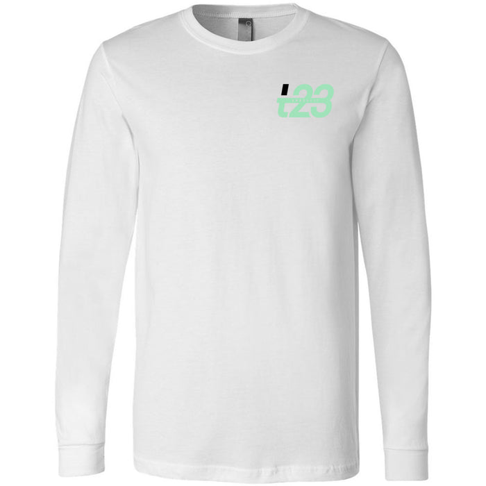 CrossFit TXXIII - 202 - Throwdown - Bella + Canvas 3501 - Men's Long Sleeve Jersey Tee