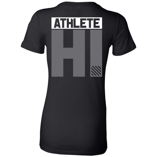 CrossFit Oahu - 200 - HI White Gray - Bella + Canvas - Women's The Favorite Tee