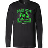 Steel Mill CrossFit Fleming Island - 100 - Beast Mode - Bella + Canvas 3501 - Men's Long Sleeve Jersey Tee