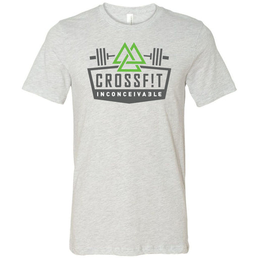 CrossFit Inconceivable - 100 - Standard - Bella + Canvas - Men's Short Sleeve Jersey Tee
