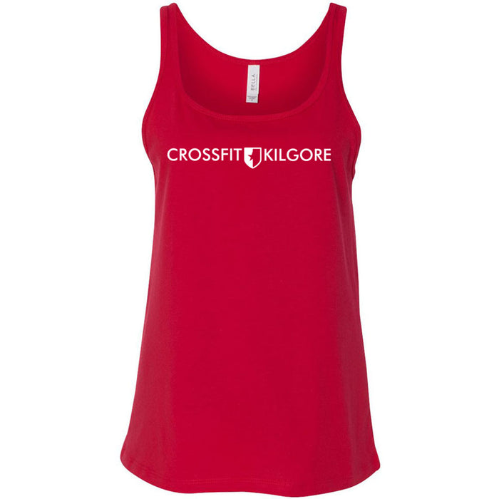 CrossFit Kilgore - 100 - Standard - Bella + Canvas - Women's Relaxed Jersey Tank