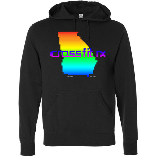 CrossFit Rx - 100 - Atari - Independent - Hooded Pullover Sweatshirt
